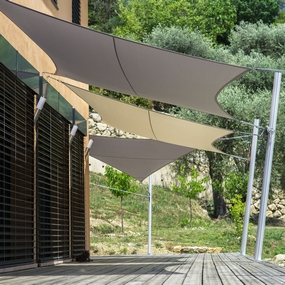 Custom-made shade sail Configurator