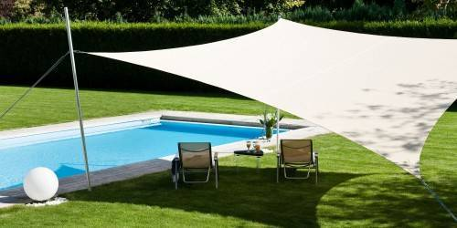 Toile solaire terrasse voile solaire terrasse espace ombrage - Toile d ombrage pour terrasse ...